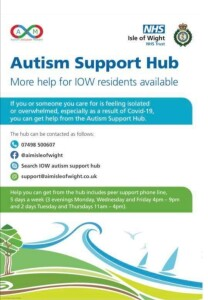 Autism support hub poster